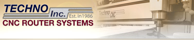 CNC Router Systems from Techno Inc.