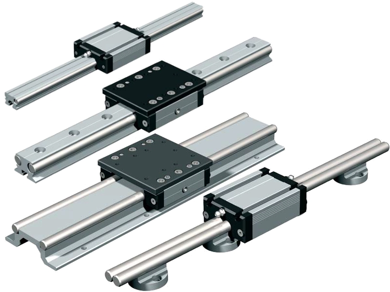 Isel Rails and Linear Bearings