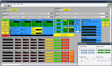 Techno linear motion systems stepper and servo motion for Stepper motor controller software freeware